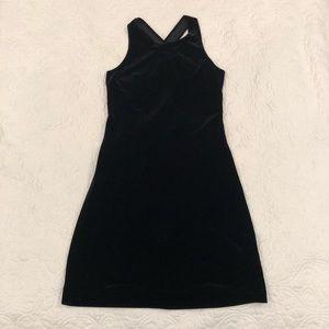 Black Velvet Dress Size 9/10